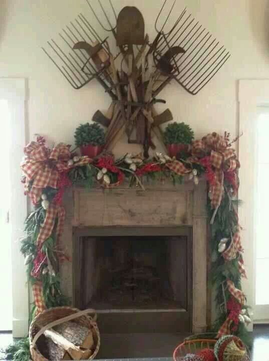 Best 25+ Primitive mantels ideas on Pinterest | Rustic fireplace ...