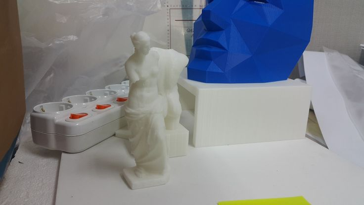 Venus de Milo and Male Torso, Diadumenus Type 3D prints. More --> pinterest.com/cosmowenman/others-3d-prints-of-cosmo-wenmans-3d-scans/