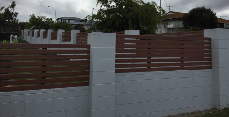 Jarrah; open slatted screen #ModWood #88mm #Screen #Fence