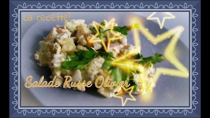 Recette: Salade russe Olivier/Russian salad Olivier/Insalata russa Olivier