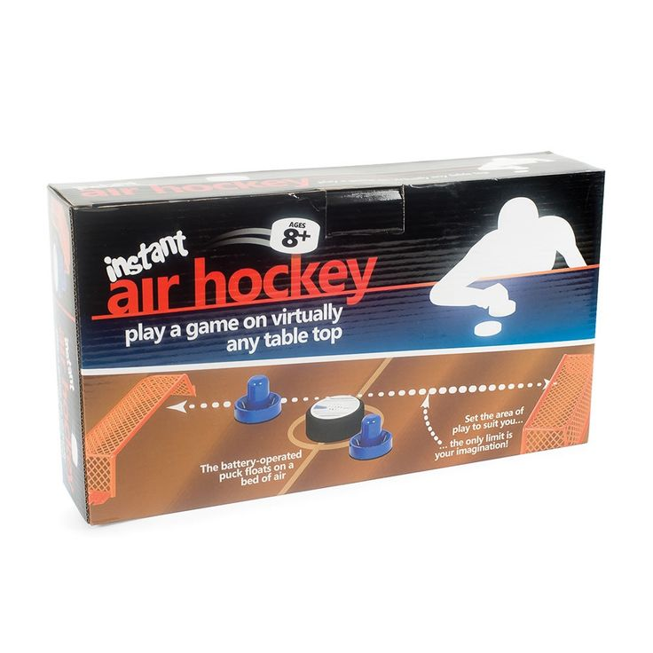 Instant Air Hockey Game Makes Any Table An Attack Zone -  #games #hockey