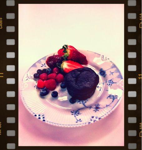 Louisa Lorang: Chokoladekage med sorte bønner