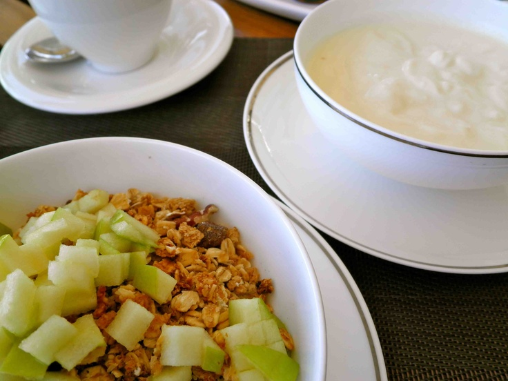 Tuesday: Granola and fresh fruit