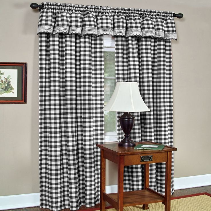 kitchen curtains at target table runners best 25+ buffalo check ideas on pinterest ...