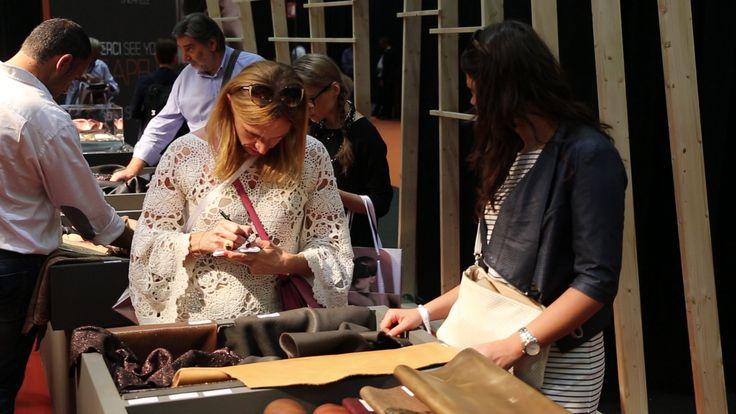 #Anteprimafair #FW1718 leather trends preview #fieramilanocity