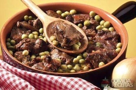 Receita de Carne de panela com ervilha em receitas de carnes, veja essa e outras receitas aqui!