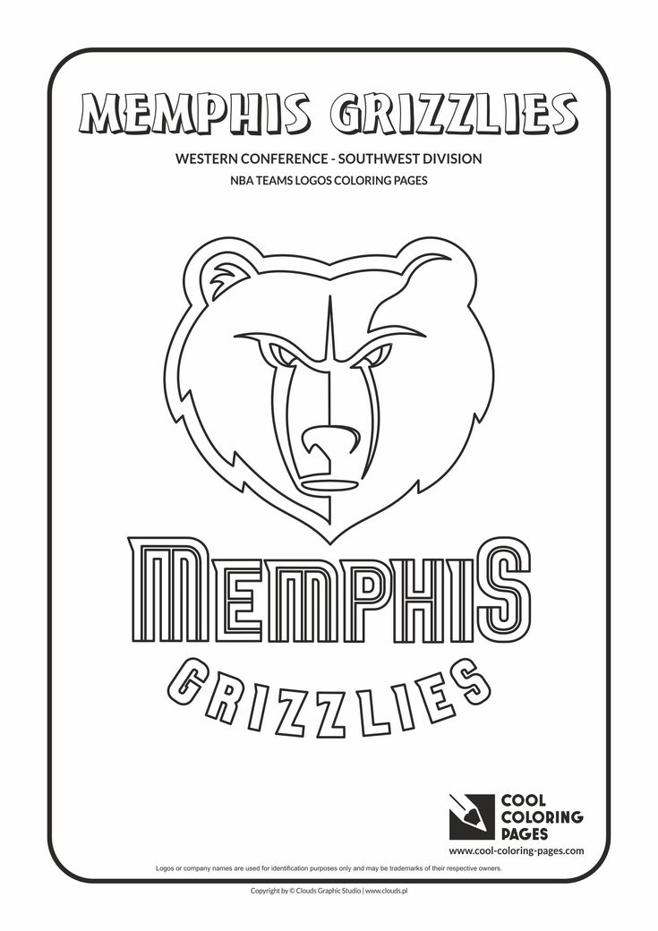 32 best nba teams logos coloring pages images on pinterest Cool Skull Coloring Pages Cool Graffiti Coloring Pages Cool Coloring Pages for Boys