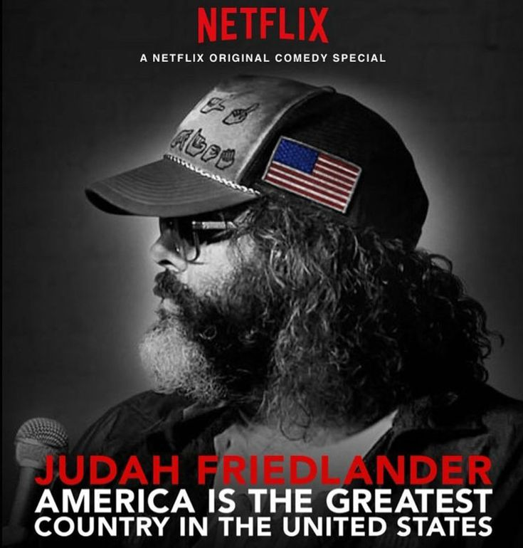 Judah Friedlander - America is the Greatest Country in the United States (2017)