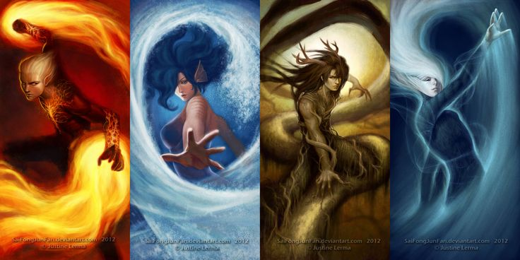Elemental Gods & Goddess