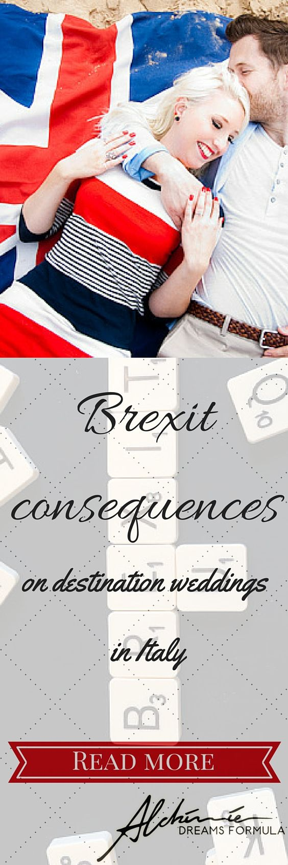 What will be Brexit consequences for destination weddings in Italy? The epochal event of Brexit