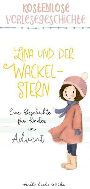 Lina und der Wackelstern {Adventsgeschichte für Kinder – eBook – Blaumeise
