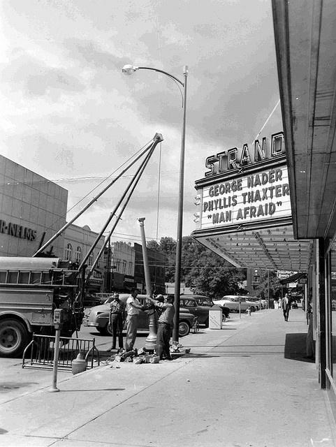 strand theatre 1957 kingsport tn history pinterest