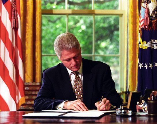 Bill Clinton the President