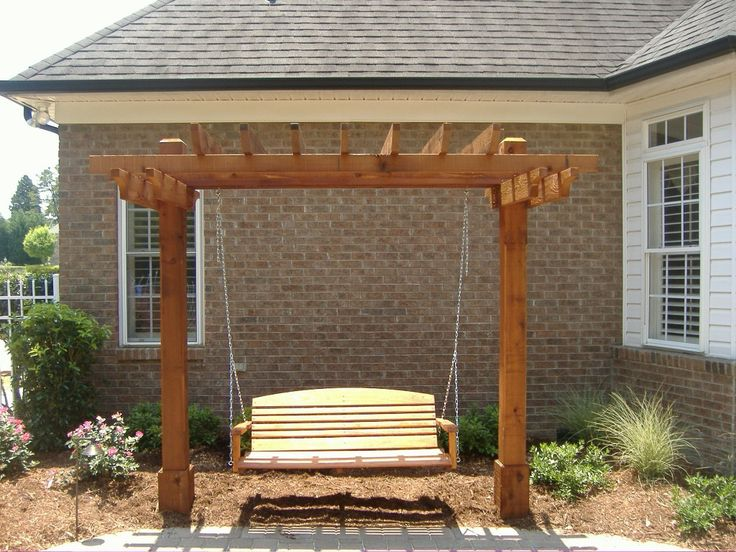 25 best ideas about arbor swing on pinterest pergola swing garden swings and garden swing - Arbor bench plans set ...