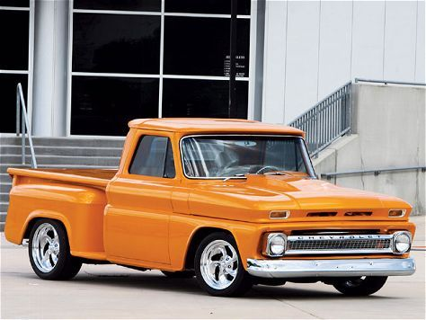 1965 Chevy Stepside Shortbed- Custom Classic Truck Magazine