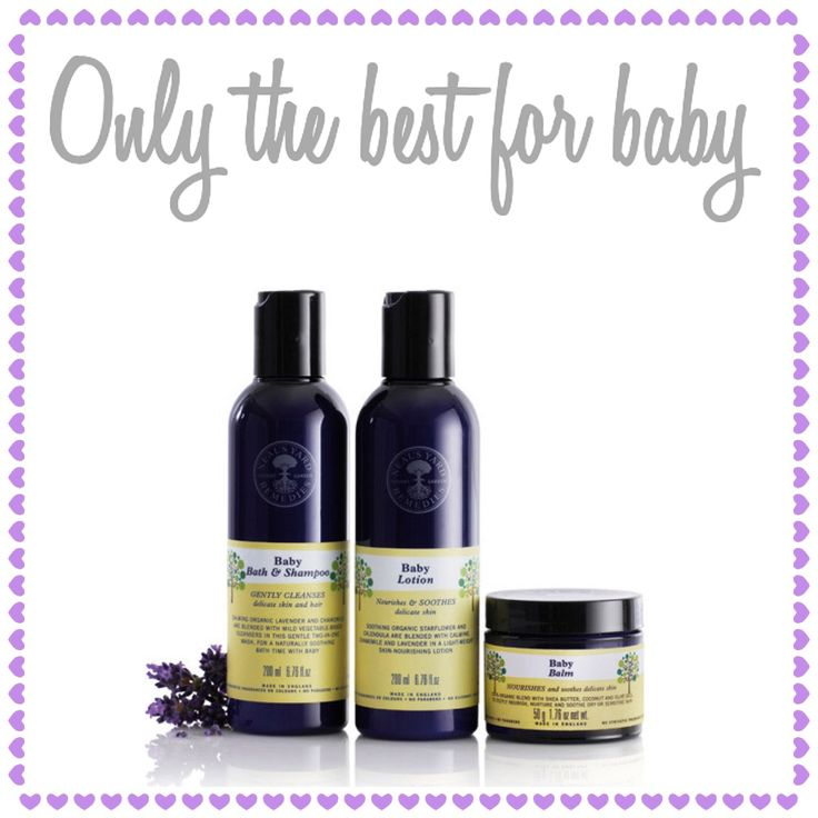 Our baby collection contains the most gentle, nurturing products, made with the purest ingredients.