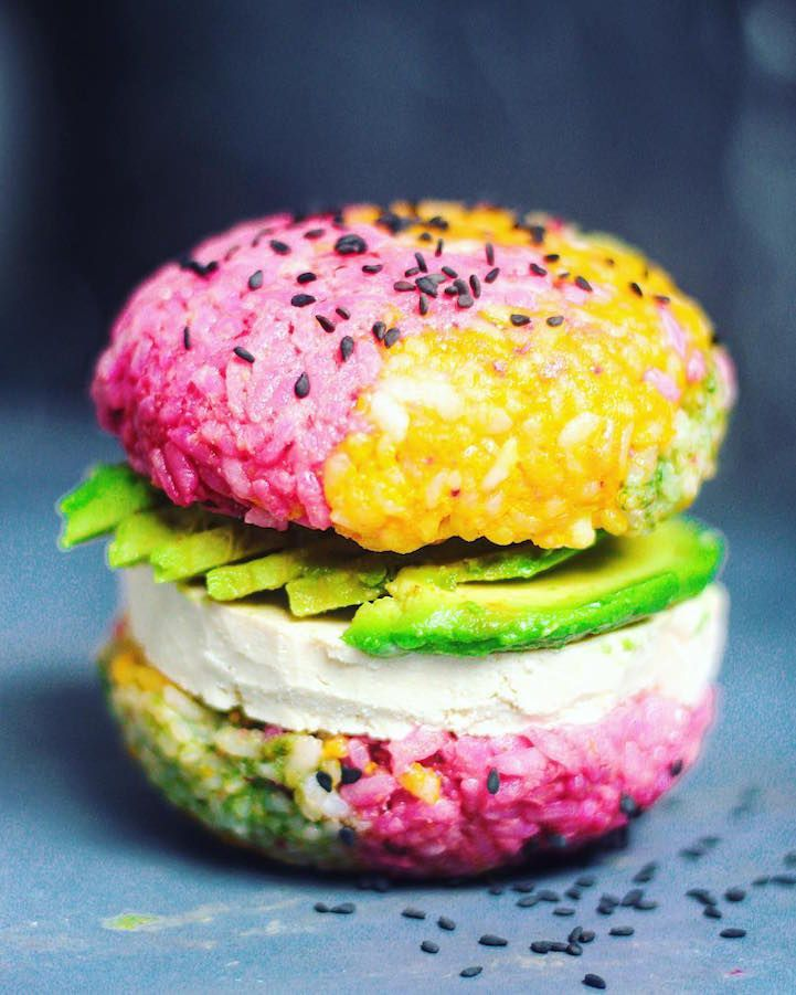 Forget the chopsticks, the newest food sensation takes the fuss out of sushi by serving it burger-style. In this trendy fusion of the iconic American stapl