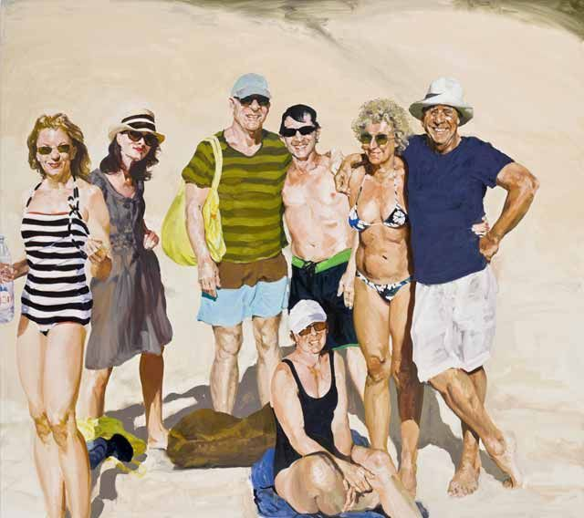 "Eric Fischl, ""Saint Barts Ralph's 70th,"" 2009   LÉXICO FAMILIAR Natalia Ginzburg"