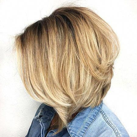 23 coiffures chic de Bob pour plus de 50 ans – #age #curly #hairstyles #hairstyle #hairc …
