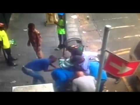 Crime In South Africa Johannesburg CBD