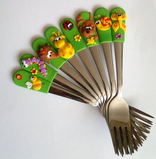 Dětské vidličky na přání:)