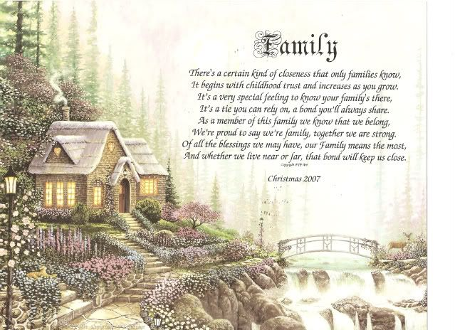 Image detail for -Family Personalized Poem House Warming Gift New Home | eBay