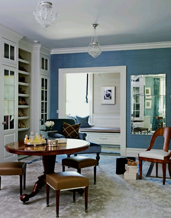 Blue Room Accents