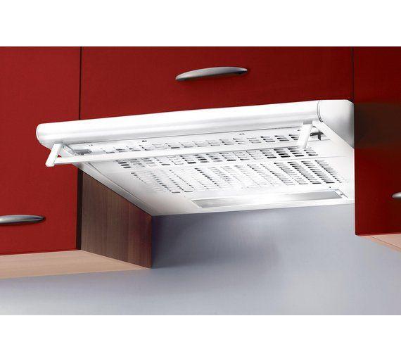 Baumatic STD62W Visor Cooker Hood - White at Argos.co.uk, £37.99