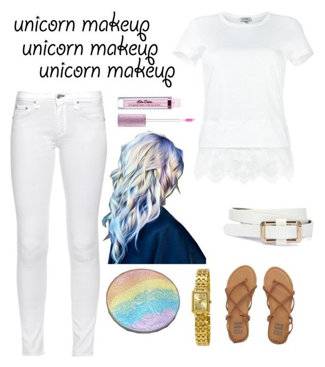 """""""Springtime unicorn"""" by wardrobepieces on Polyvore featuring Billabong, Carven, rag & bone and Seiko"""