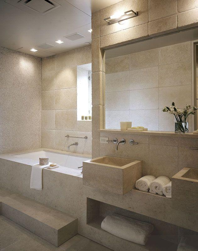 Chic & Modern Greenwich Village Loft - Bathroom - by David Howell DesignHowell Design, Boys Bathroom, Relaxing Contemporary, Contemporary Bathrooms, Modern Bathroom, David Howell, Beautiful Bathroom, Bathroom Ideas, Bathroom David