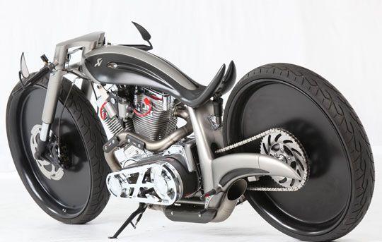 Akrapovic Cutting Edge Custom Motorcycle