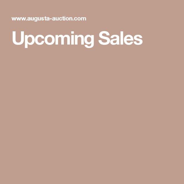 Upcoming Sales