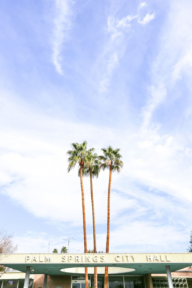 Instagram Tour of Palm Springs // Salty Canary
