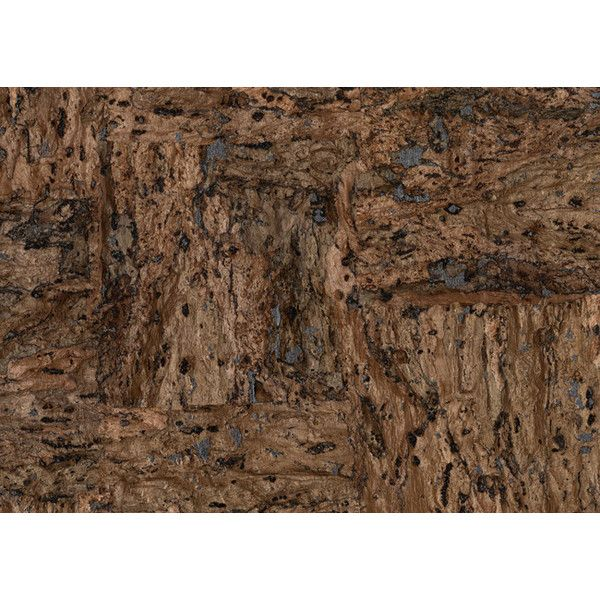 Cork Wallpaper Design By Candice Olson ($170) Liked On
