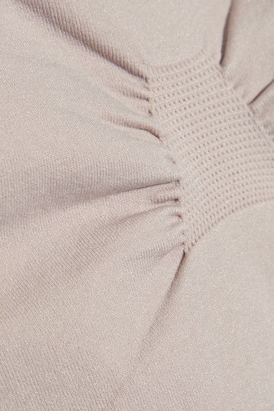 Adidas by Stella McCartney - The Tank Two-tone Stretch Top - Pastel pink - x small