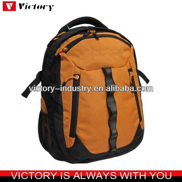 Yellow fabric color school backpack for laptop 2016 #At_School, #Funny
