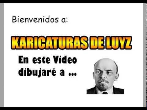 "Caricatura ""Lenin 100"" SpeedPaint"