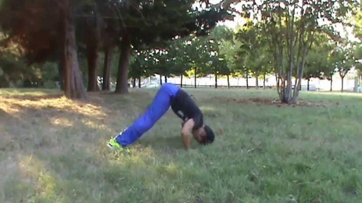 V push up propedeutica per handstand push up