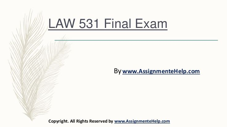 We bring to you the largest online platform to find 100% verified correct answers to the Business LAW 531 Final Exam New Assignments UOP Course Material.