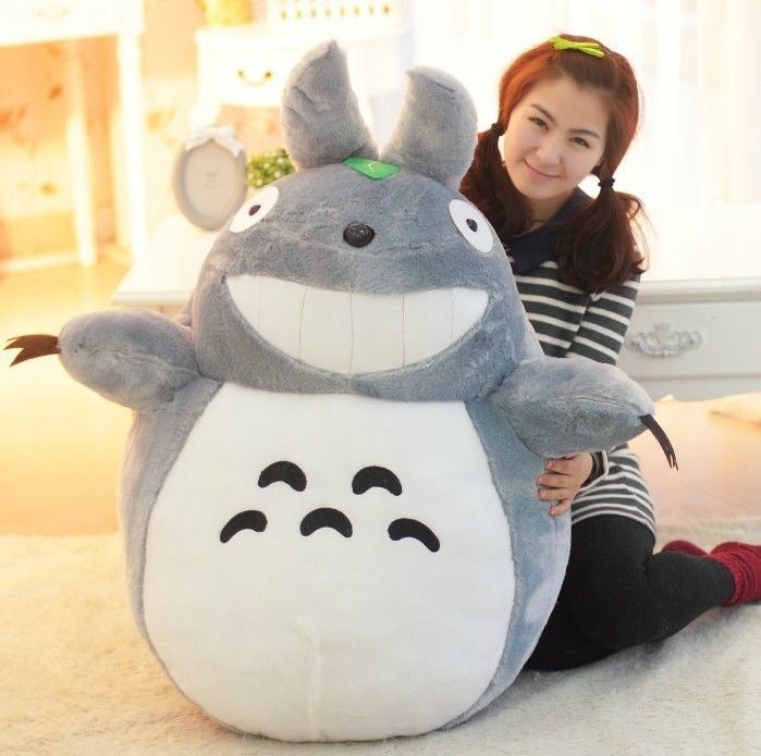 "12"" 31"" New My Neighbor Totoro Doll Cartoon Toys Totoro Plush Toy Stuffed Pillow 
