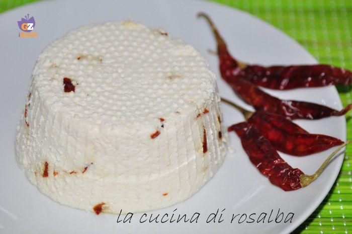 formaggio fresco fatto in casa senza caglio