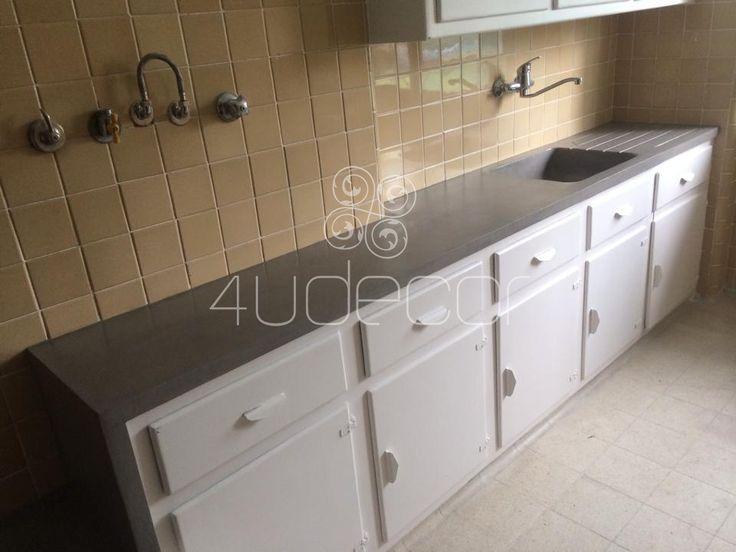 Cozinhas - Microcimento 4Udecor