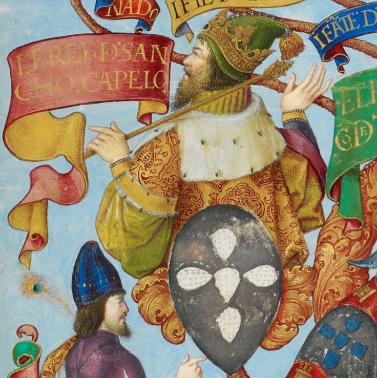 D. Sancho II de Portugal - The Portuguese Genealogy (Genealogia dos Reis de Portugal).png