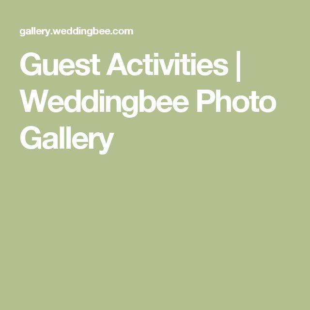 Guest Activities | Weddingbee Photo Gallery