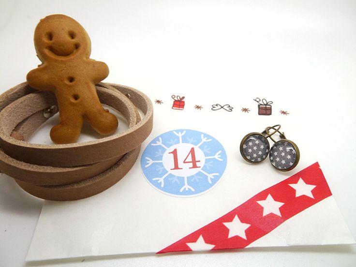 ★ gefüllter Adventskalender ★ Schmuck II ★ midi von LilaZimtStern auf DaWanda.com