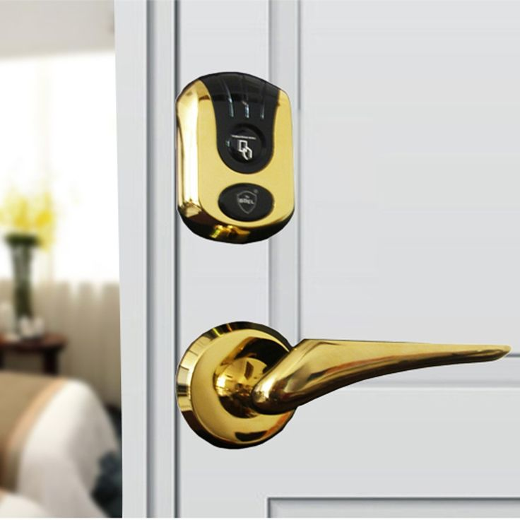 (56.13$)  Watch here  -  fashion design keyless hotel door lock Electronic card lock OS7720