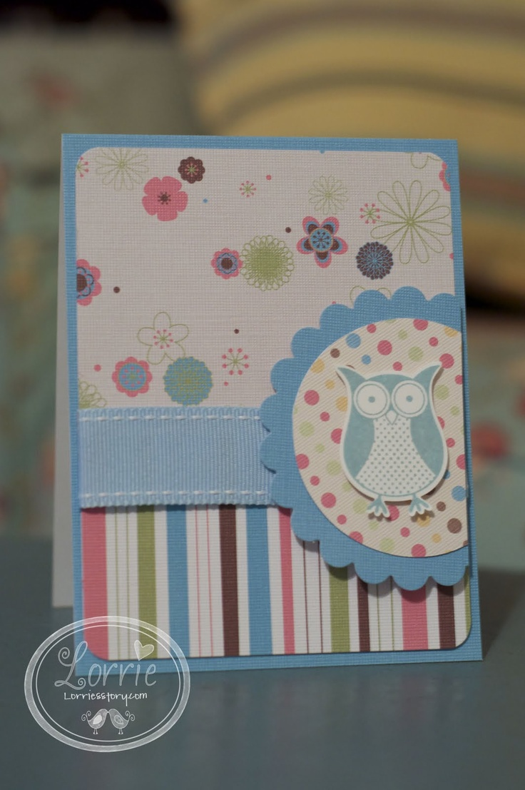 Stampin' Up (SU) Card - Any Occasion