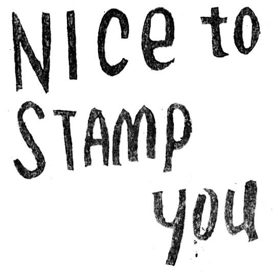 Nice to stamp you : Masaaki Oyamada