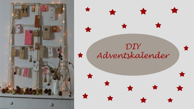 DIY - Adventskalender / Papiertüten selbermachen und bedrucken