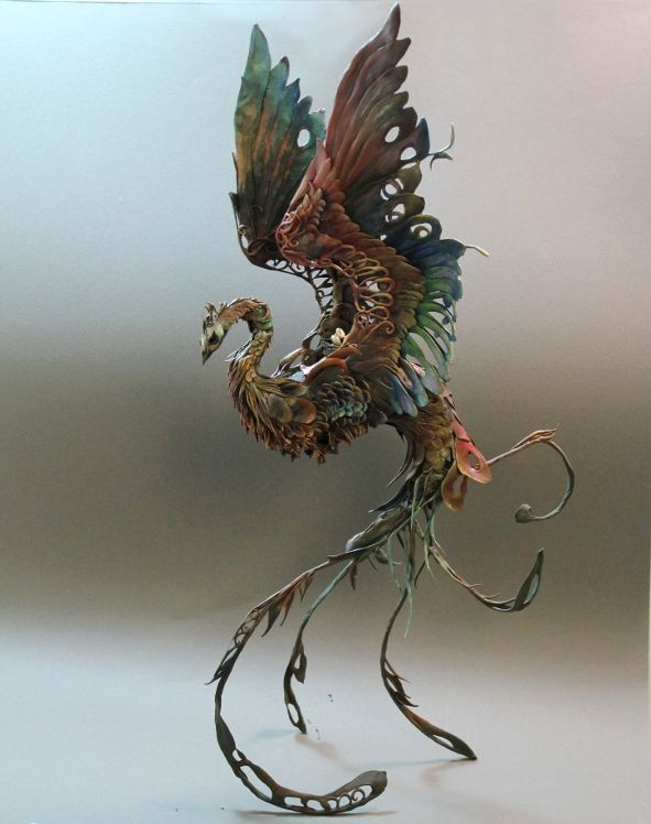 Pearl Pheasant by *creaturesfromel on deviantART